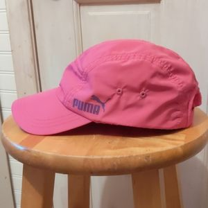 Puma Hot Pink Polyester Ladies Ball Cap